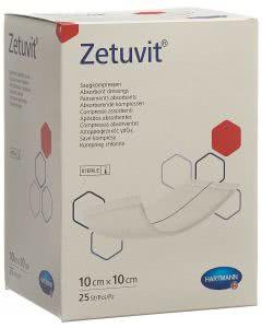 Zetuvit Absorptionsverband - 25 Stk. à 10cm x 10cm