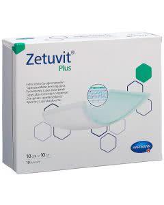Zetuvit Plus Absorptionsverband - 10 Stk. à 10cm x 10cm
