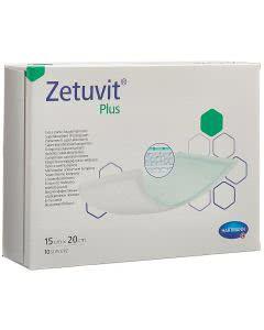 Zetuvit Plus Absorptionsverband - 10 Stk. à 15cm x 20cm