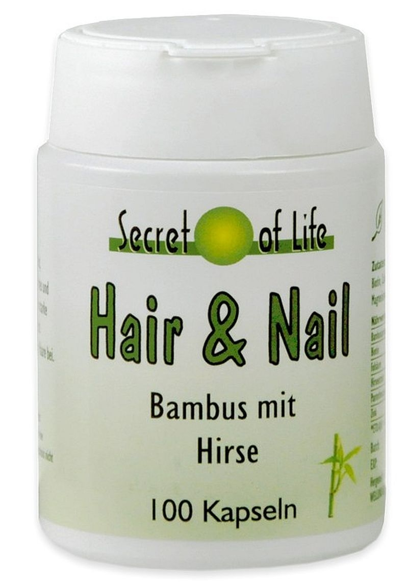 Sparpack Secret Of Life Hair Und Nail Bambus Drogi Ch