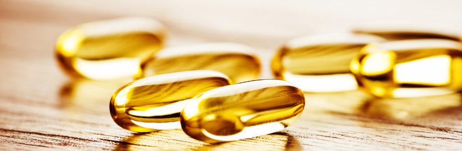 Omega3 als Nahrungsergänzungsmittel in Kapselform