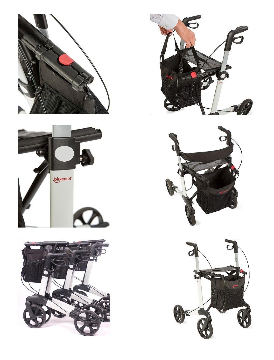Birkenrot Rollator Details