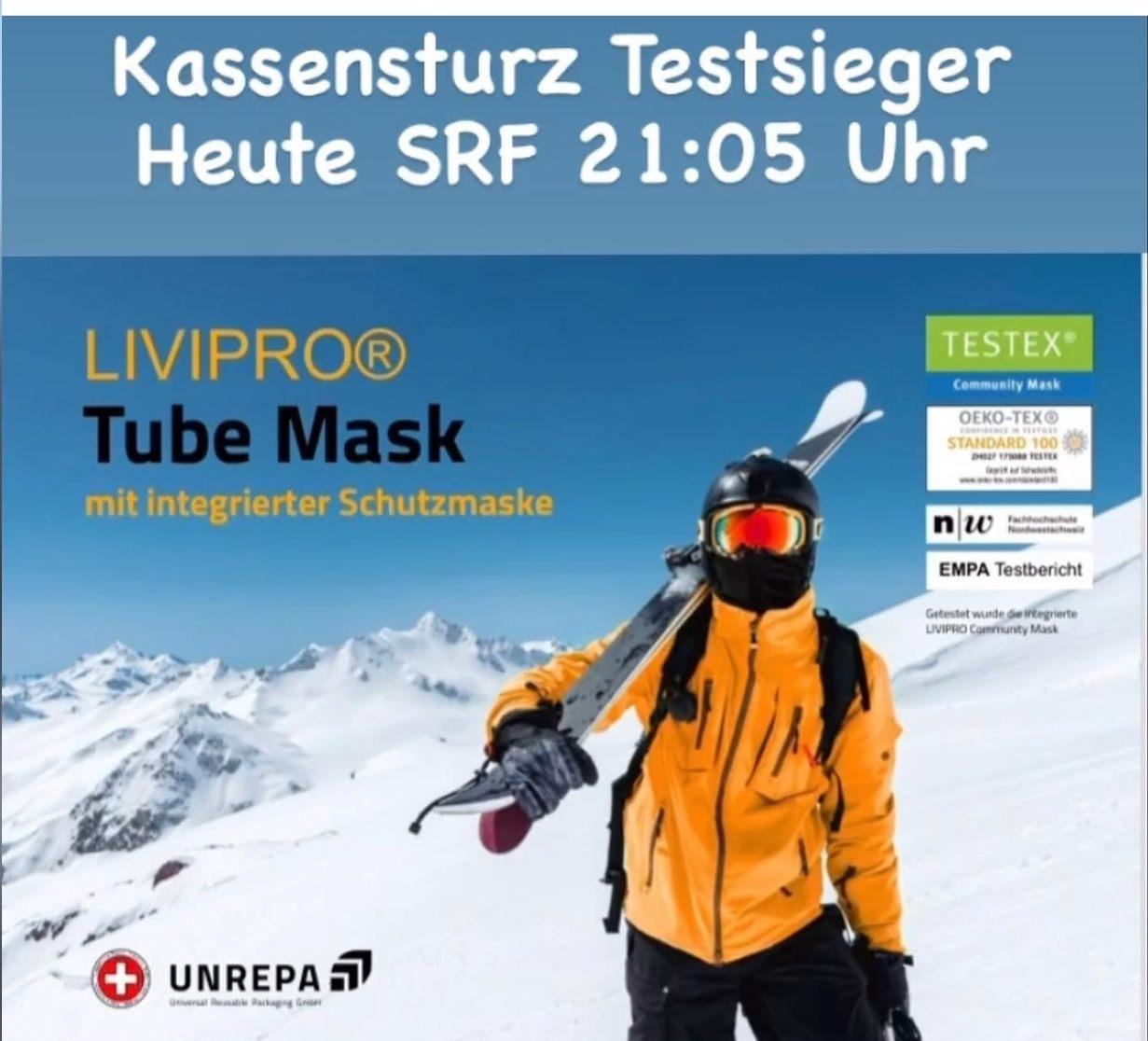 Livipro Tube Mask K-Tipp